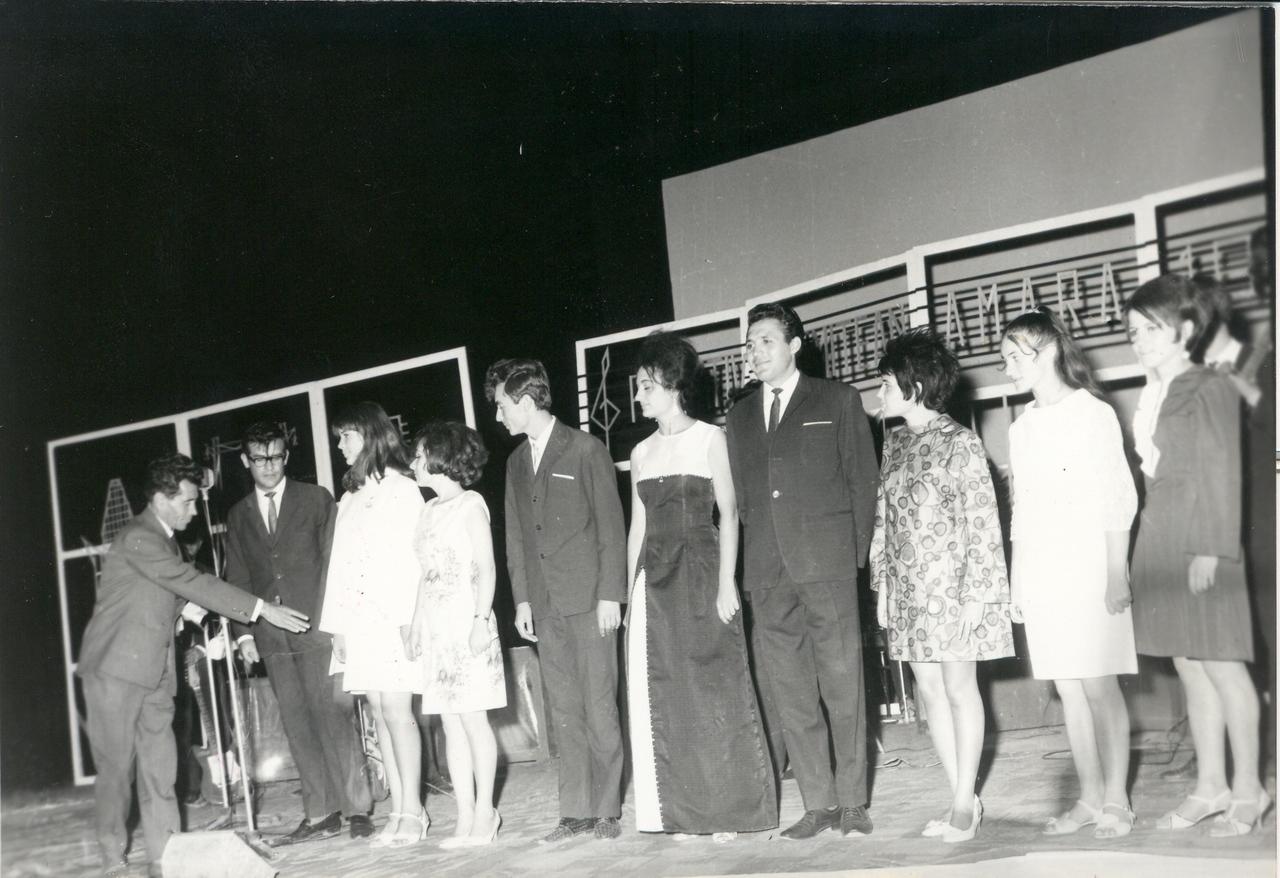 1968 - concurenti la festivitatea de premiere