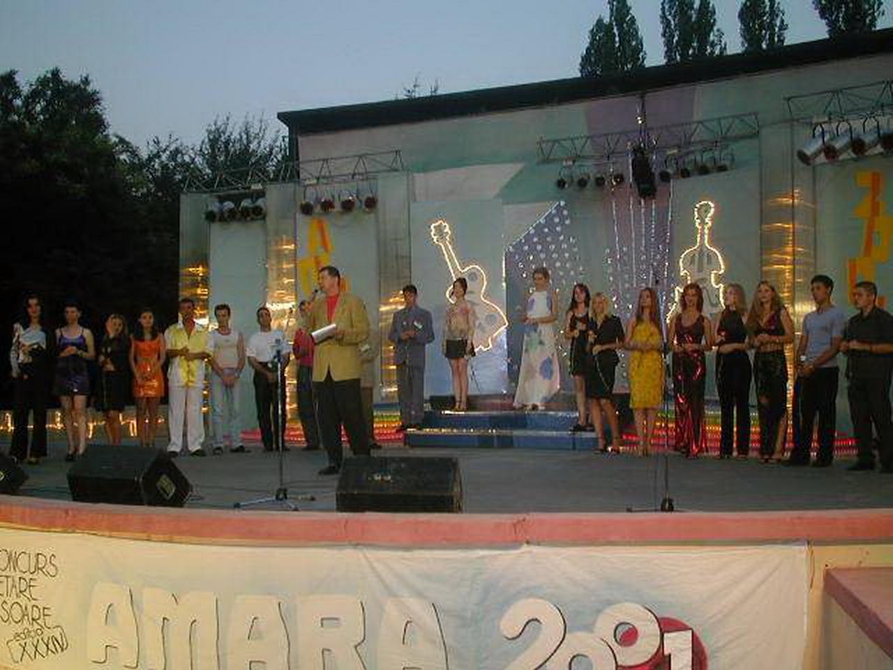Amara 2001 - prezentare concurenti.JPG