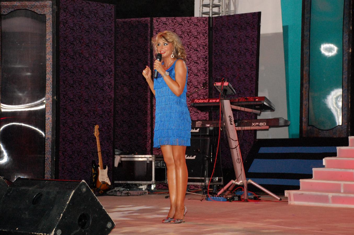 Alexandra Velniciuc - prezentatorul festivalului